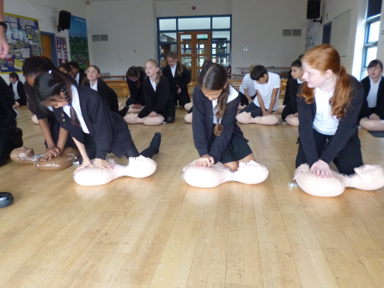 6RR CPR Training 4 - Emerson Valley School
