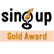 Sing Up Gold Award