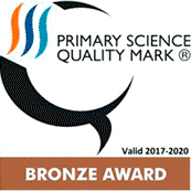Primary Science Quality Mark Award - Bronze Award