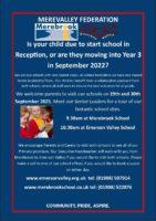 Prospective Parents Tour Wednesday 29th September 2021